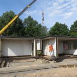 Počátky stavby